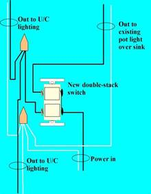 installing under cabinet lighting electrical online