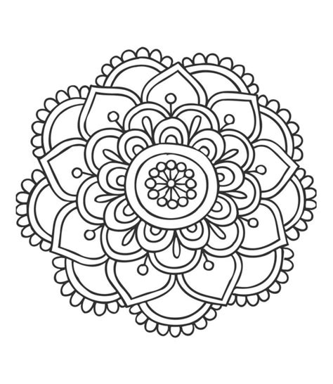 mandala coloring pages easy 25 best ideas about mandala doodle on mandala