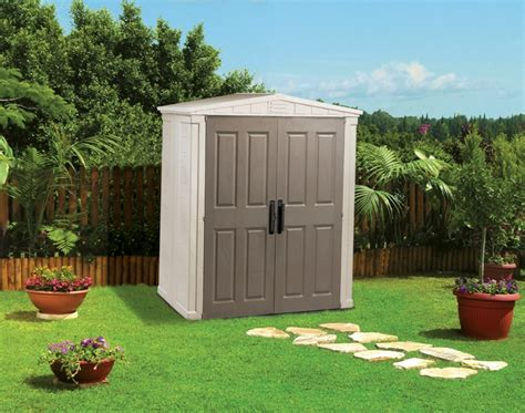 keter apex    garden storage shed durable plastic