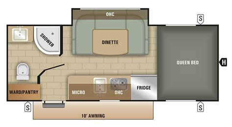 rv floor plans small starcraft rv