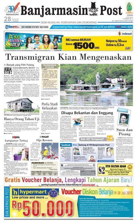 kk1128 kemeja pria kk 668 banjarmasinpost edisi senin 19 juli 2010 by banjarmasin