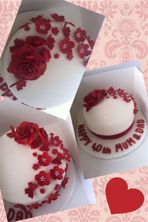 best 25 wedding anniversary cakes ideas on 40th wedding anniversary cake 40th