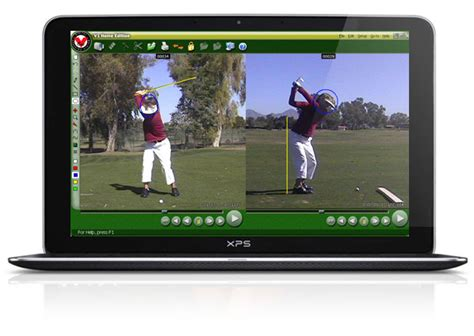 golf swing analysis software home teachinggolfonline