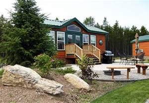 Koa Deluxe Cabin by Deluxe Cabins West Glacier Koa