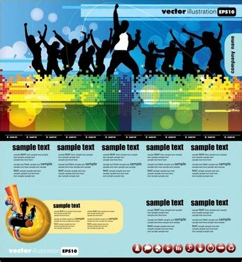 templates for dynamic website the trend of dynamic website templates 05 vector free