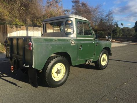 land rover truck for sale 1965 land rover truck cab all orig series iia defender