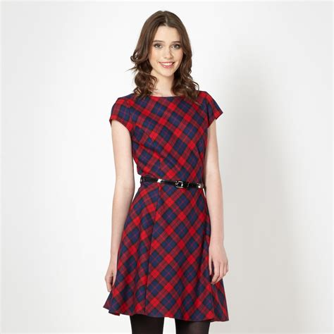 Tartania Dress tartan skater dress all the dresses