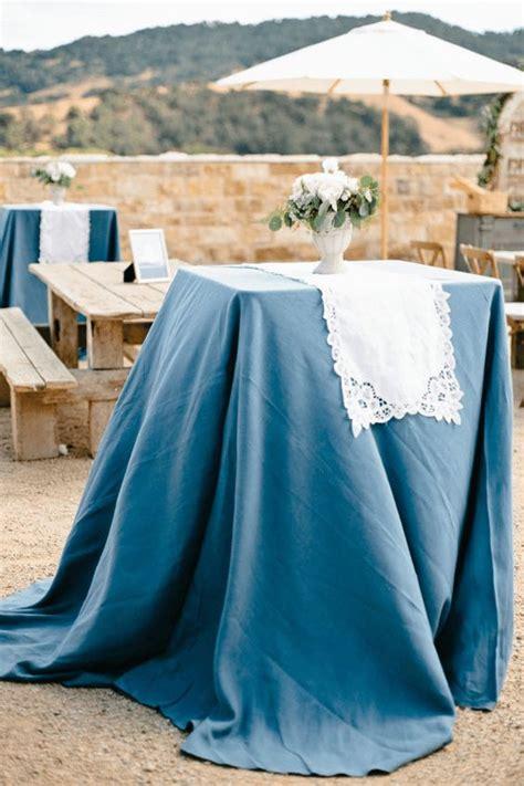 wedding inspiration dusty blue wedding color ideas