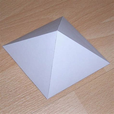 A Paper Pyramid - selection of pyramids