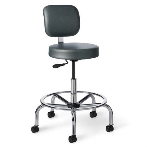 Science Lab Stools With Backs by Office Master Vinyl Professional Lab Stool W Back