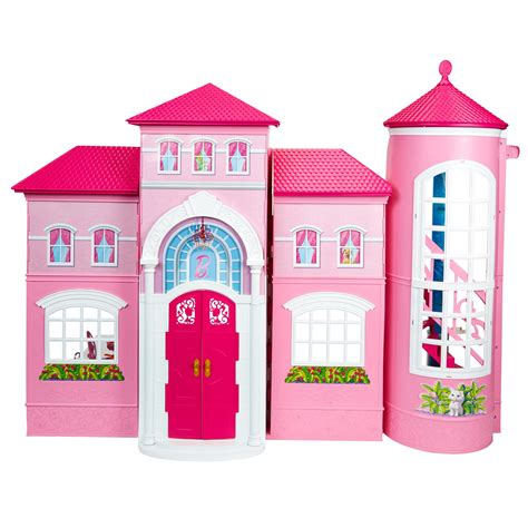 hamleys dolls house barbie malibu house 163 100 00 hamleys for toys and games