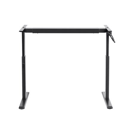 monoprice sit stand desk review monoprice sit stand height adjustable desk frame
