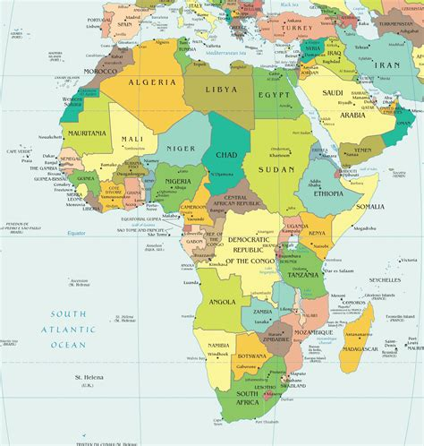 africa map by country africa map region country map of world region city
