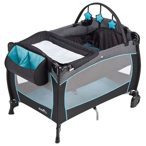 Evenflo Changing Table Evenflo Babysuite Delux Koi Portable Play Yard