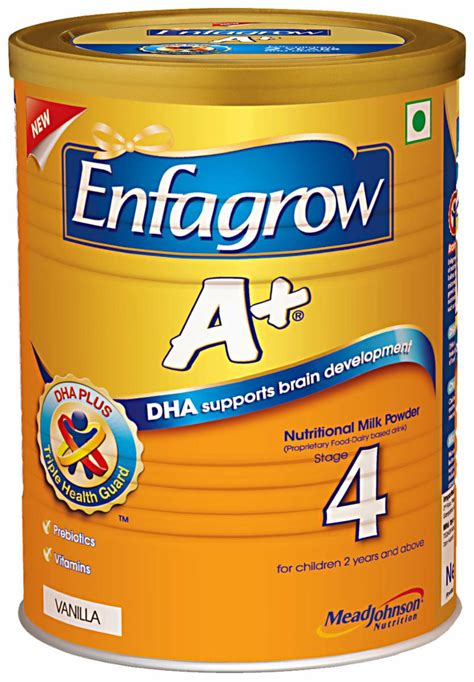 buy enfagrow a stage 4 nutritional milk powder tin vanilla 400 gm india