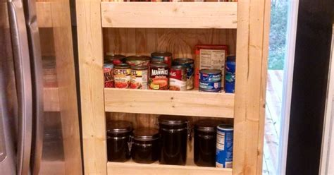 how to build your own rolling pantry hometalk