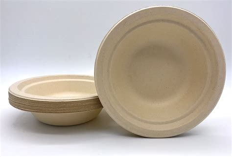 Paper From Bamboo - eco friendly disposable paper bamboo bowls 187 petagadget