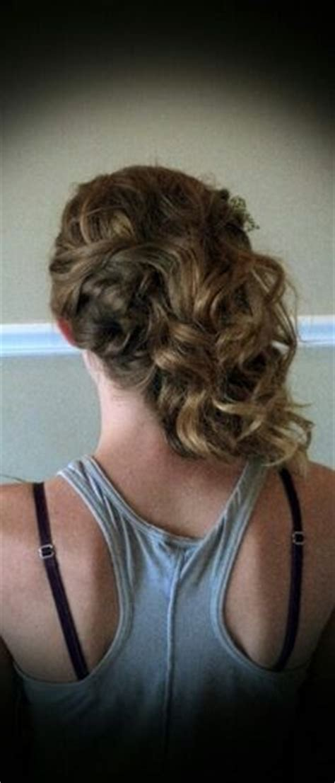 1000 images about hair styles by me on bridal updo flat iron curls and prom updo