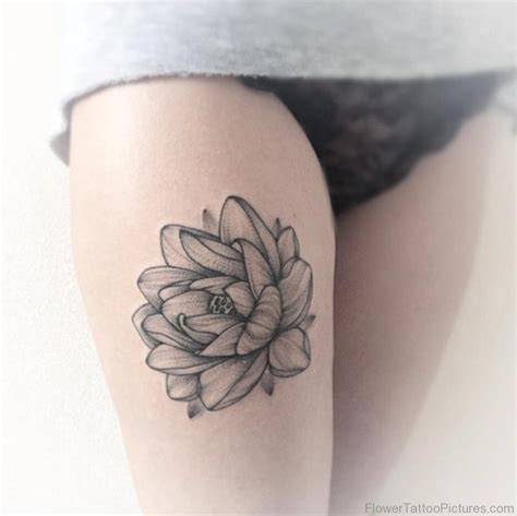 floral thigh tattoo designs 45 fantastic lotus tattoos on thigh