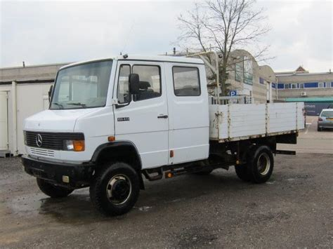 mercedes truck 4x4 mercedes 814d 4x4 doka open truck from