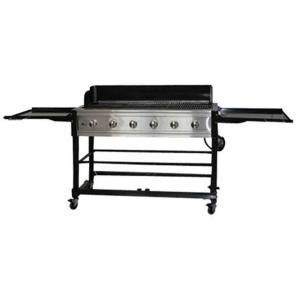 brinkmann 6 burner propane gas grill 810 9600 s the home