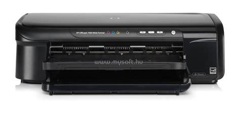 Printer Hp Officejet 7000 hp officejet 7000 wide format printer c9299a sz 237 nes tintasugaras nyomtat 243 mysoft hu