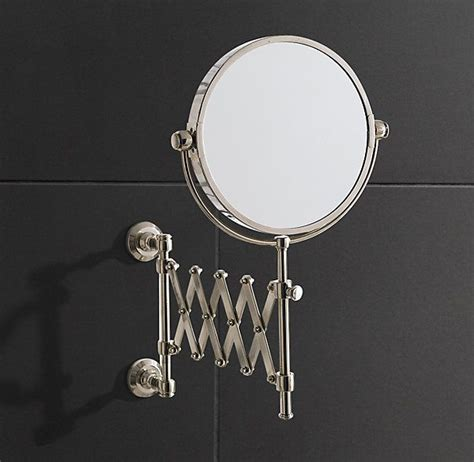 bathroom mirrors restoration hardware lugarno extension mirror restoration hardware