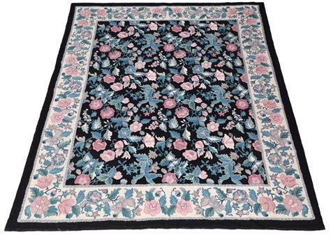 Where To Buy Quality Rugs by Large Quality Floral Knotted Aubusson Wool Rug 9 Quot X