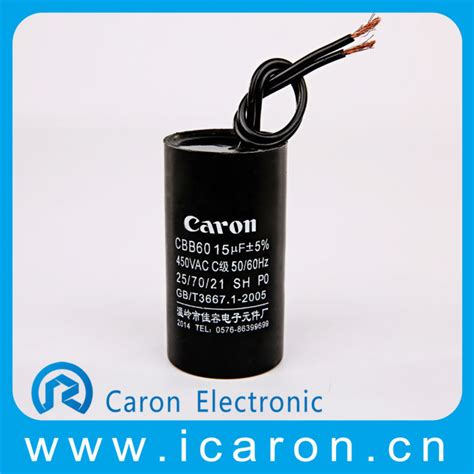 ac motor capacitor cbb60 products wenling professional supplier ac motor capacitor cbb60 25 70 21 for ac motor from wenling caron