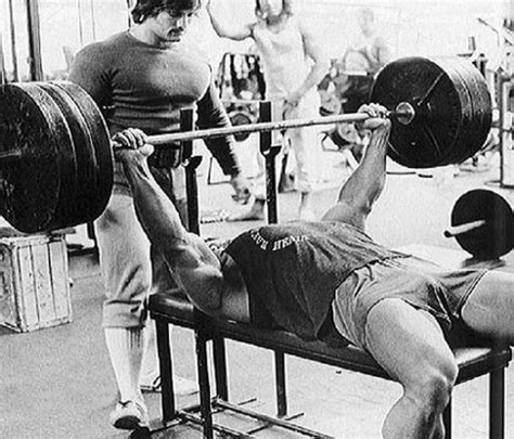 arnold schwarzenegger bench max mass workout how to get big part 2 urbasm