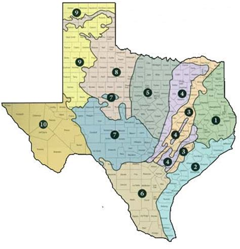 texas ecoregions map ecoregion
