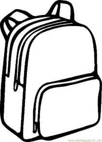 coloring backpack coloring pages backpack 06 education gt school free
