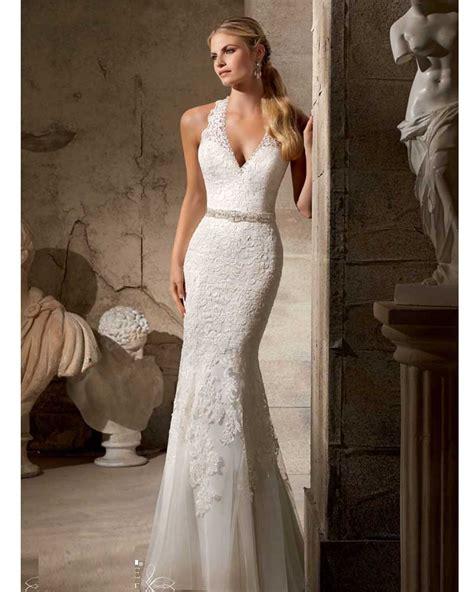 Imported Laceta Dress vestido de noiva sereia renda lace mermaid wedding dress vintage cheap imported civil wedding