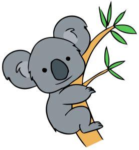 koala clipart free clip koala forest animals clip