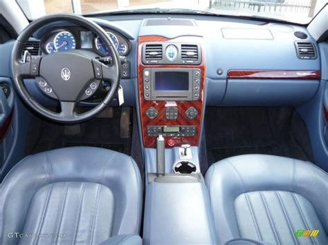 2005 Argento Light Blue Maserati Quattroporte