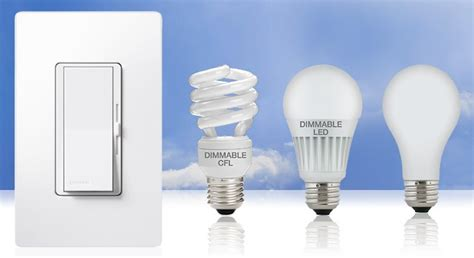 Led Light Bulb Dimmer Switch Lutron Unveils Energy Saving Dimmer Switch For Cfl And Led Bulbs Lutron Cfl And Led Dimmers