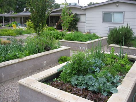 metal raised garden beds landscape modern with raised