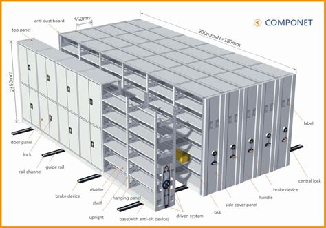 Mass Supply Cabinets by Manual Mass Shelf Mobile Filing Cabinet Compact Shelving