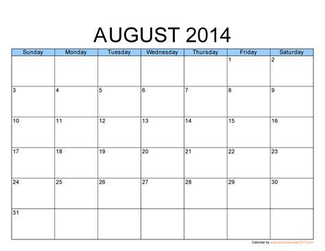 Template Calendar 2014 – 2014 Monthly Calendar Template   doliquid