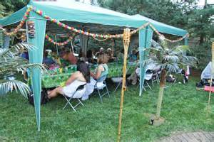 Backyard Luau Ideas Hawaiian Luau Backyard Tent Decorations Tiki Palm Trees And More Graduation Ideas