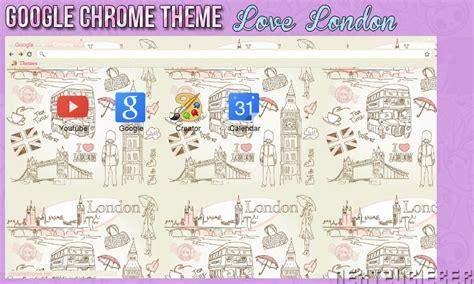 chrome themes london google chrome theme love london by cursorsandmore on