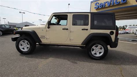 tan jeep wrangler 2012 jeep wrangler unlimited sport cl109463 sahara tan