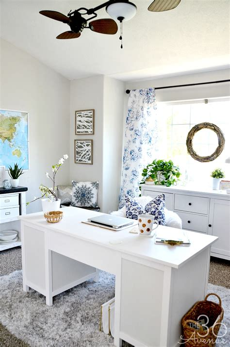 pretty home decor home office decor reveal part one the 36th avenue