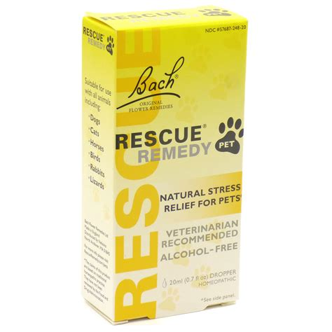 rescue remedy pet  bach  milliliters