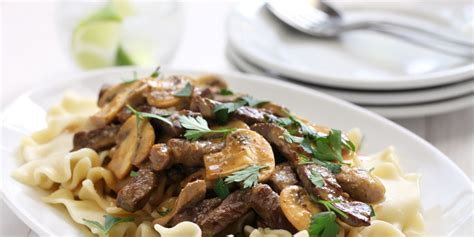Dinner Party Main Dish - beef stroganoff recipe epicurious com