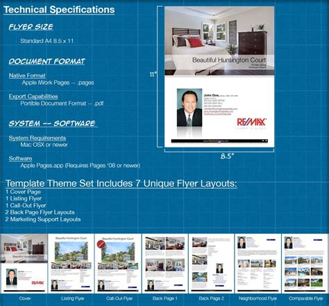 mac flyer templates for real estate specialized real