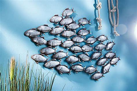 wanddeko fische wanddeko fischschwarm jetzt bei weltbild de bestellen