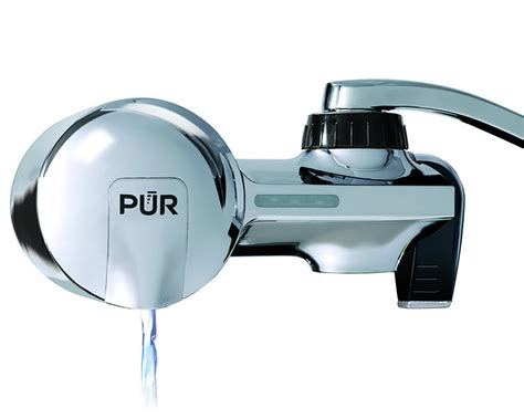 Pur Faucet by Pur Pfm400h Chrome Horizontal Faucet Mount With 1 Mineral
