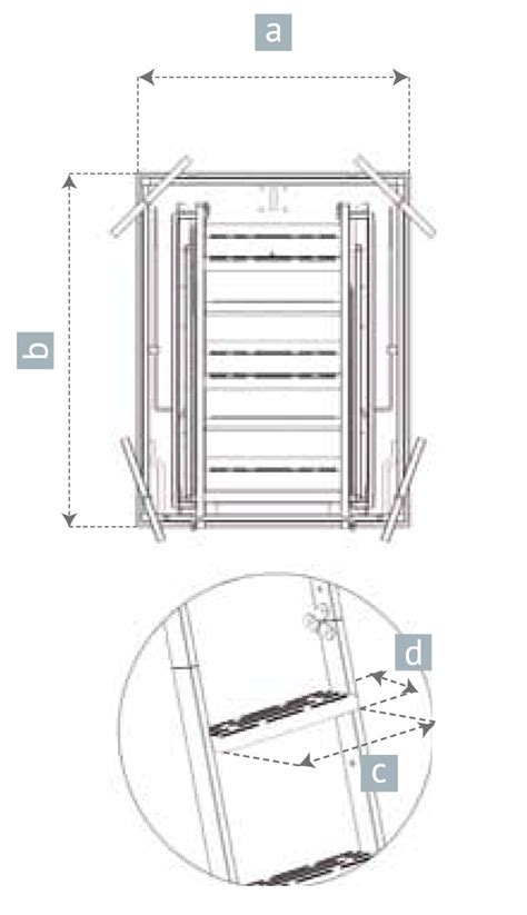 scala a scomparsa per soffitta scala retrattile rigida per soffitta scale a scomparsa