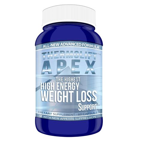 weight management supplements thermolift apex high energy weight management supplement